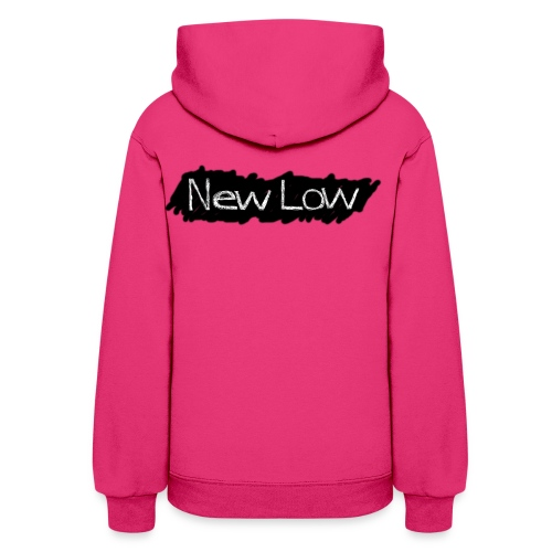 new low logo1a - Women's Hoodie