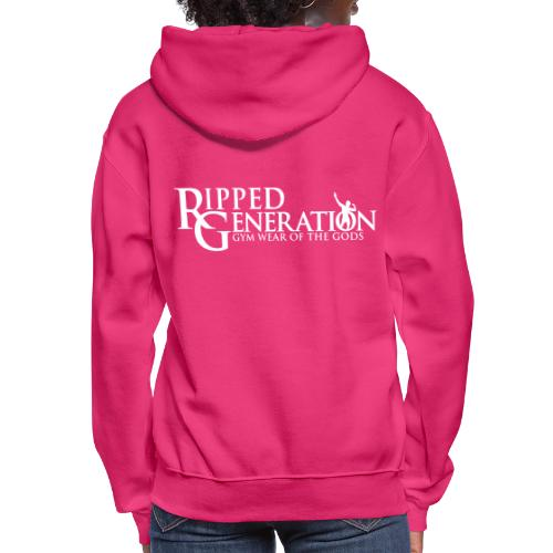 Ripped Generation Gym Wear of the Gods Logo - Women's Hoodie