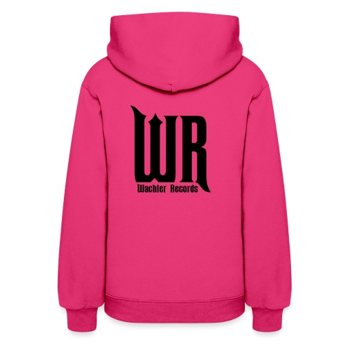 Wachler Records Dark Logo - Women's Hoodie