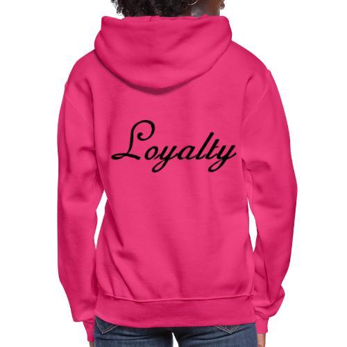 Loyalty Brand Items - Black Color - Women's Hoodie