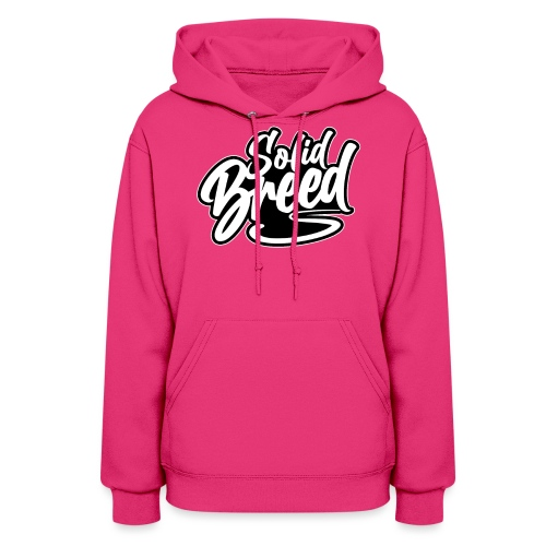 Solid Breed Contemporary Black Logo - Women's Hoodie