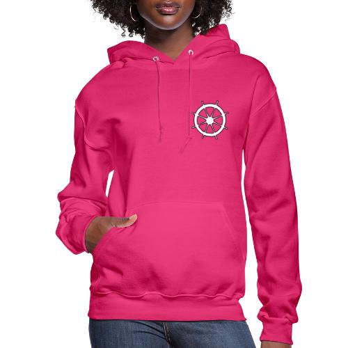Steering Wheel Sailor Sailing Boating Yachting - Women's Hoodie