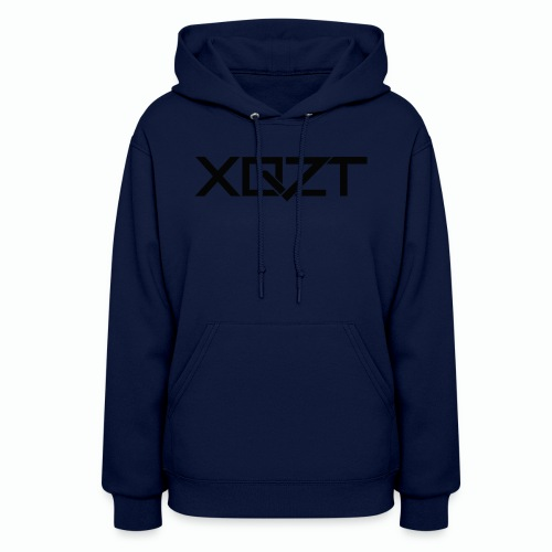 #XQZT Logo Ultra Noir - Women's Hoodie