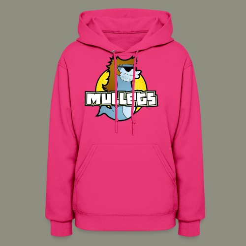 mullets logo - Women's Hoodie
