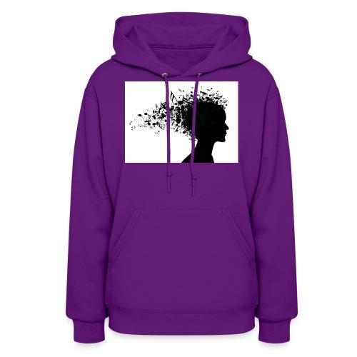 music through my head - Women's Hoodie