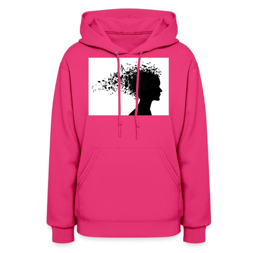 music through my head - Women's Hoodie