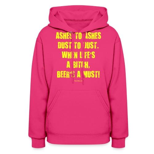 Beer's A Must! - Women's Hoodie