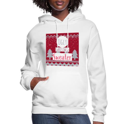 Ugly Christmas Sweater - Women's Hoodie