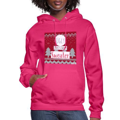 Ugly Christmas Sweater - Women's Hoodie