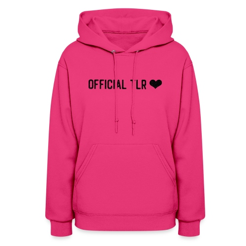 Official TLR ❤️- Black Font - Women's Hoodie