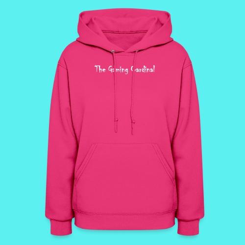 white logo text - Women's Hoodie