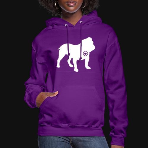 Bulldog love - Women's Hoodie