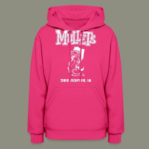 mulletmain white - Women's Hoodie