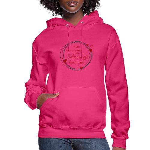 Blessings head to toe hearts - Women's Hoodie