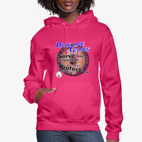 Thin Blue Line - To Serve and Protect - Women's Hoodie