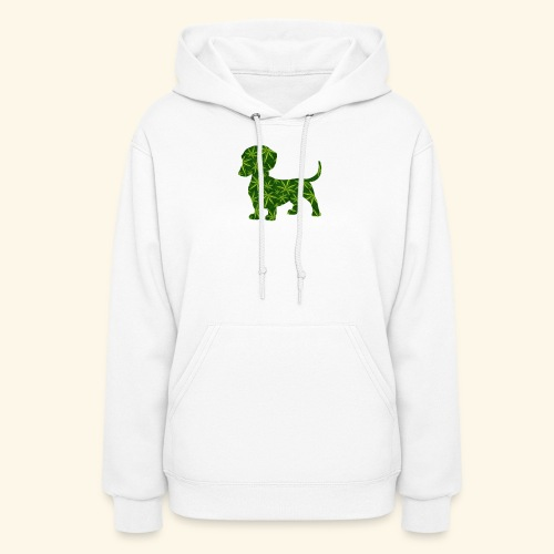 PUFFY DOG - PRESENT FOR SMOKING DOGLOVER - Women's Hoodie