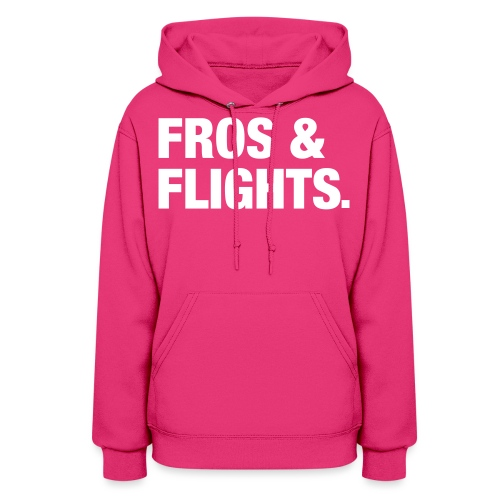 fros flights white - Women's Hoodie