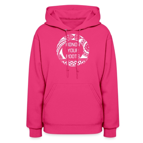 Honor Your Roots (White) - Women's Hoodie