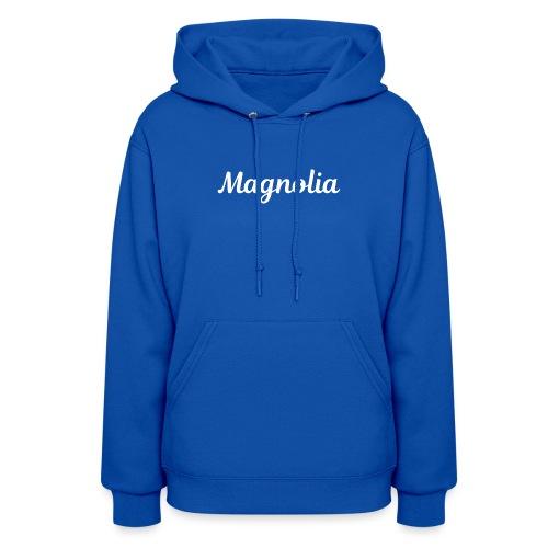 Magnolia Abstract Design. - Women's Hoodie