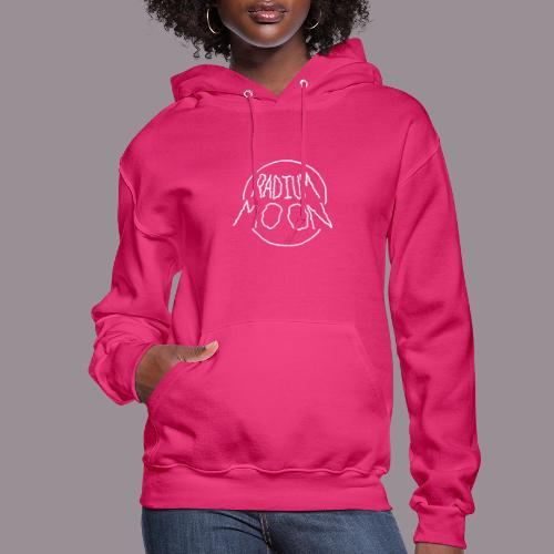 Radium Moon White - Women's Hoodie