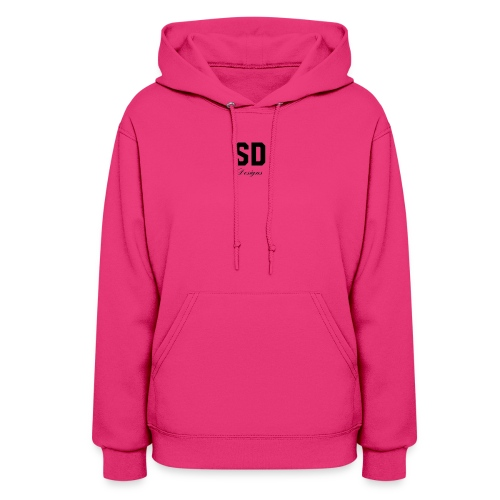 SD Designs blue, white, red/black merch - Women's Hoodie