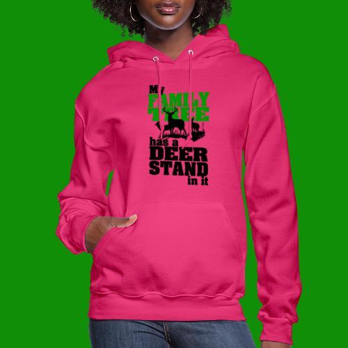 Deer Stand Family Tree - Women's Hoodie