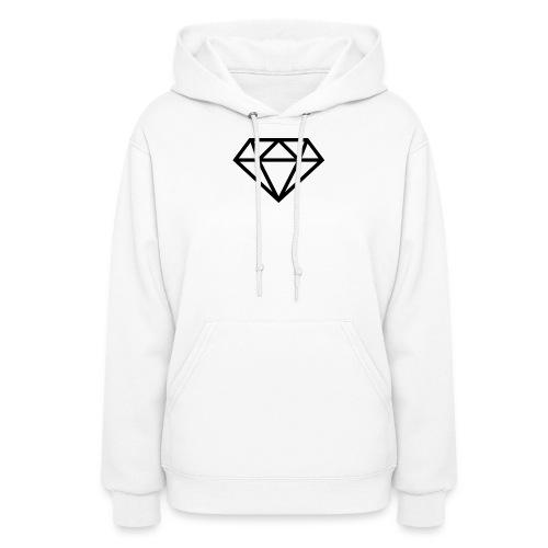 diamond outline 318 36534 - Women's Hoodie