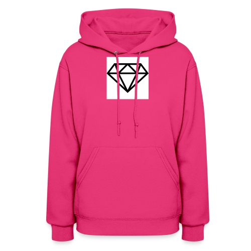 diamond outline 318 36534 - Women's Hoodie