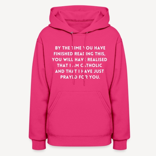 BY THE TIME YOU HAVE FINISHED.... - Women's Hoodie