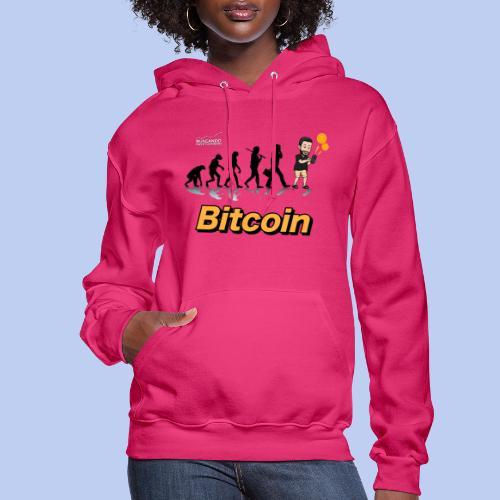 Evolucion del Hombre Bitcoin2 - Women's Hoodie