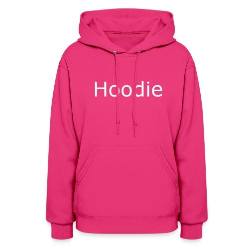 Hoodie Hoodie White - Women's Hoodie