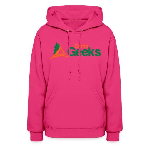 CampGeeks Logo - Women's Hoodie
