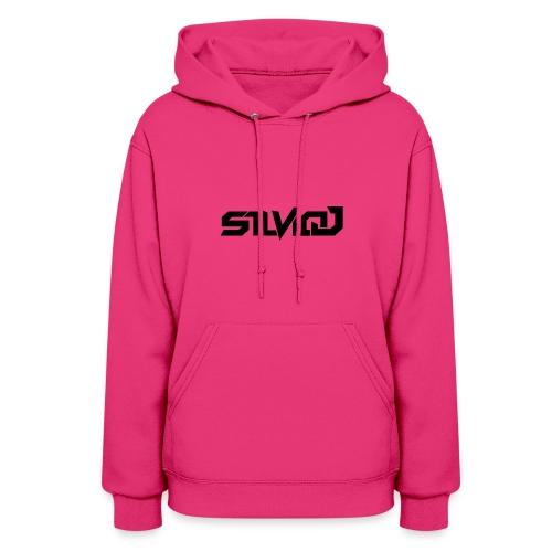 SilvioJ Text Logo Black - Women's Hoodie