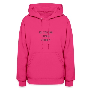 Work Out Apparel - Women's Hoodie