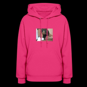 self modeled - Women's Hoodie