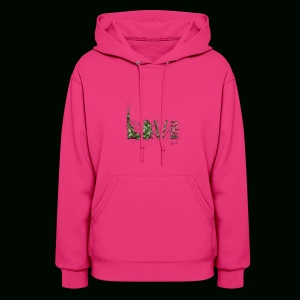 Love and War - Army - Women's Hoodie