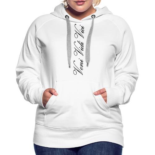 veni vidi vici calli leggins - Women's Premium Hoodie