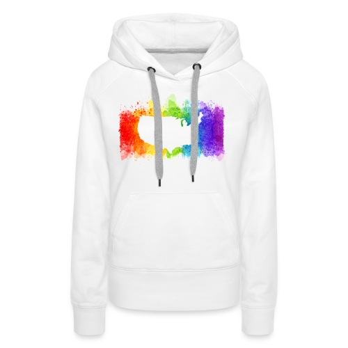 Pride Rainbow Map USA - Women's Premium Hoodie