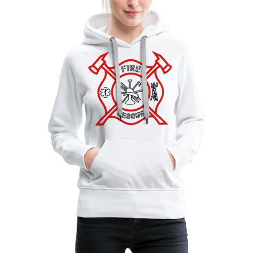 Fire Rescue - Women's Premium Hoodie