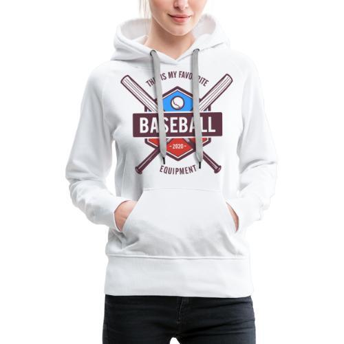 baseball - Women's Premium Hoodie