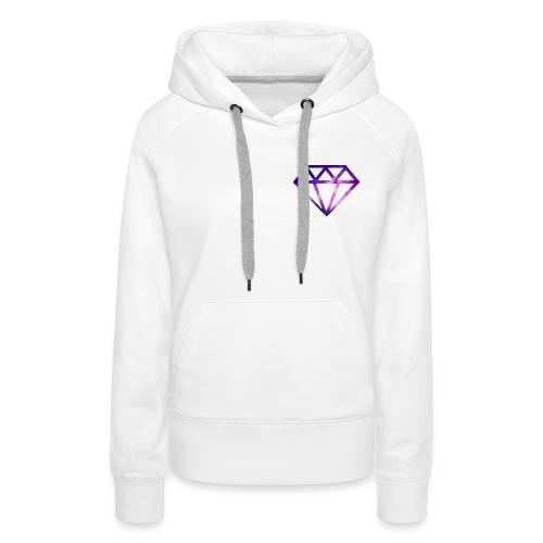 The Galaxy Diamond - Women's Premium Hoodie
