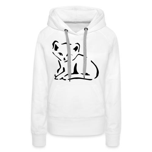 Kitty Cat - Women's Premium Hoodie