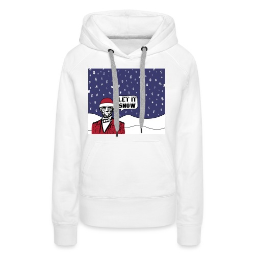 Let It Snow - Women's Premium Hoodie