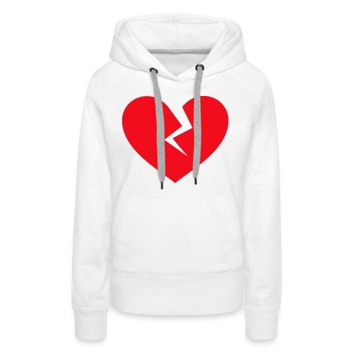 Broken Heart - Women's Premium Hoodie