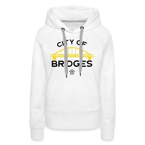Pittsburgh City Of Bridges - Women's Premium Hoodie