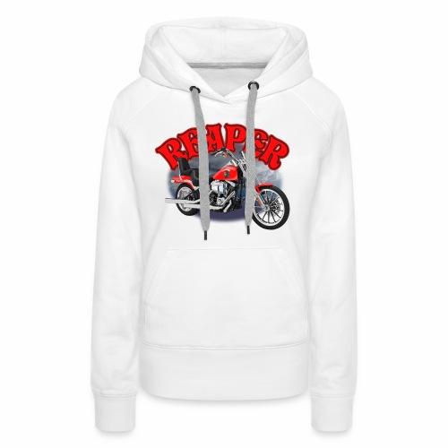 Motorcycle Reaper - Women's Premium Hoodie