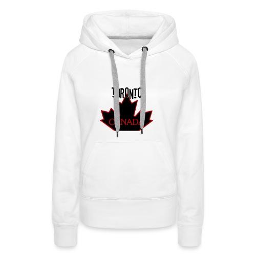 TORONTO CANADA - Women's Premium Hoodie