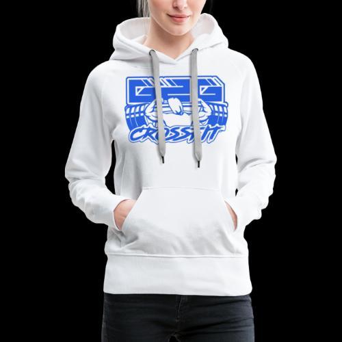 Ocean Blue Full G2G Logo - Women's Premium Hoodie