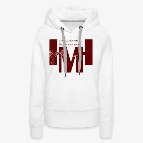 YouTube's Master Human: Grunge Underground Logo - Women's Premium Hoodie