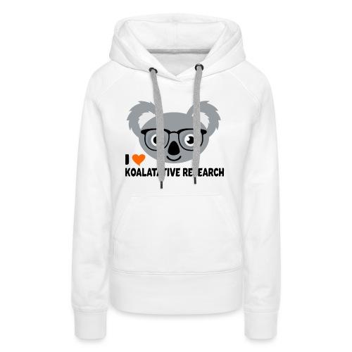 Koalatative Research - Women's Premium Hoodie